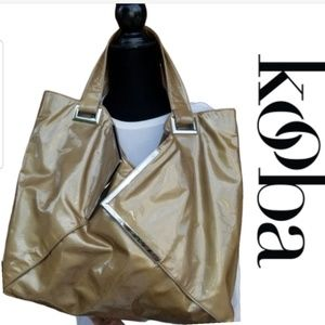 Kooba Ryder patent leather tote